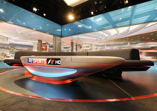 Sky Sport F1 Desk Lacquer